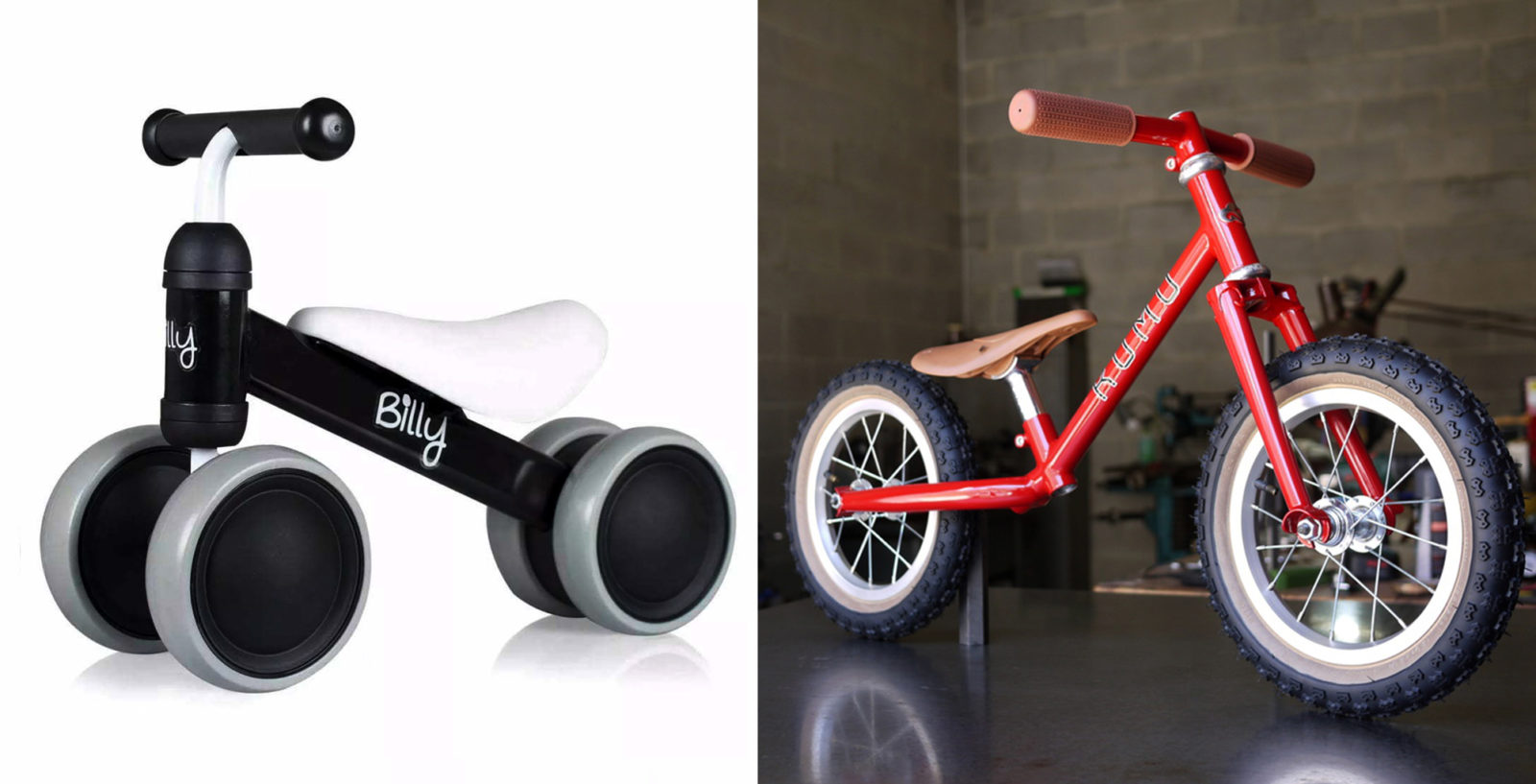 Детский велосипед беговел